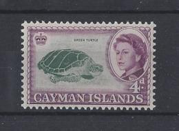 """CAYMAN Is.......QUEEN ELIZABETH II.(1952-NOW).."""" 1962 """"....4d....SG171...(CAT £3.75.).....MH - Kaaiman Eilanden"""