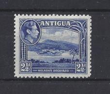 ANTIGUA..KING GEORGE VI.(1936-52)...2 AND HALFd.....SG102.......(CAT £1.75.)....MNH. - 1858-1960 Colonia Británica