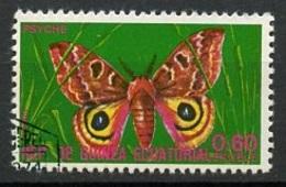 Guinée Equatoriale - Guinea 1975 Y&T N°71-0,60e - Michel N°(?) (o) - 0,60e Papillon Psyché - Äquatorial-Guinea