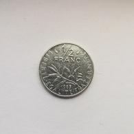 ½ Franc Münze Aus Frankreich Von 1985 (sehr Schön) - G. 50 Centimes