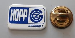 Handball Club  GRASSHOPPER Zurich Hopp GZ Switzerland  Pin Badge - Balonmano