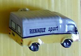 Fève  - Véhicule - Camion Saviem Renault Sport - Fèves