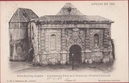 Spaanse Omwalling Antwerpen Anvers En 1866 Porte Kipdorp Kipdorppoort - Place De La Commune (zeer Goede Staat) - Antwerpen