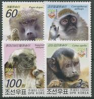 Korea (Nord) 2004 HONG KONG '04: Affen 4731/34 Postfrisch - Korea (Nord-)