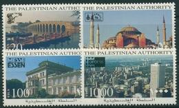 Palästina 1996 CHINA'96 CAPEX ESSEN Gebäude 47/50 Postfrisch - Palästina