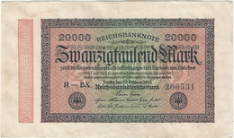 Alemania - Germany 20.000 Mark 20-2-1923 Pk 85 A Ref 20 - 20000 Mark