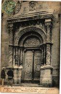CPA BOURG-ARGENTAL - Portail De L'église Sculpté Au XII Siécle .. (225842) - Bourg Argental