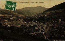 CPA BOURG-ARGENTAL - Vue Générale (165870) - Bourg Argental