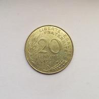 20 Centimes Münze Aus Frankreich Von 1997 (sehr Schön) - E. 20 Centimes
