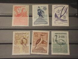 ARGENTINA - 1960 UCCELLI 6 VALORI  - NUOVI(++) - Nuovi