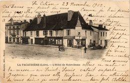 CPA La PACAUDIERE - L'Hotel De Notre-Dame (165879) - La Pacaudiere