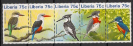 Liberia - 1996 - N°Yv. 1356 à 1360 - Faune / Oiseaux - Neuf Luxe ** / MNH / Postfrisch - Oiseaux