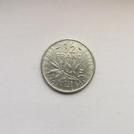 ½ Franc Münze Aus Frankreich Von 1965 (schön) - G. 50 Centimes