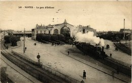 CPA Nantes - La Gare D'Orléans (166145) - France