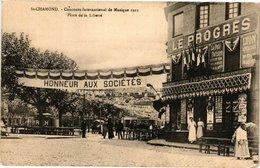 CPA St-CHAMOND - Concours Internat. De La Musique Place De La Liberté (210980) - Saint Chamond