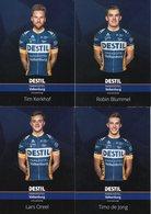 Cyclisme, Serie Destil 2018, 16 Cartes - Wielrennen