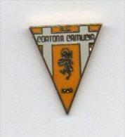 U.S. Cortona Camuccia Calcio Distintivi FootBall Soccer Spilla Pins Arezzo Toscana - Calcio