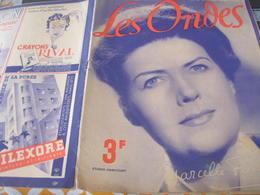 ONDES RADIO PARIS/MARCELLE FAYE  /COLLABORATION TESSIER /MAX BONNAFOUS /PASQUIER /GABRIEL COURET /FRITZ LEHMANN - 1900 - 1949