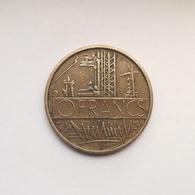 10 Francs Münze Aus Frankreich Von 1974 (sehr Schön) - K. 10 Francs