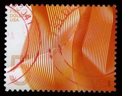 Etats-Unis / United States (Scott No.4719 - Vague De Couleur / Waves Of Color) (o) Crease / Plie - Verenigde Staten