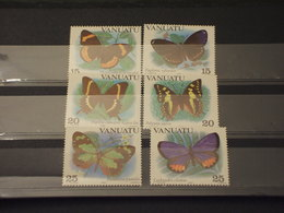 VANUATU - 1983 FARFALLE 6 VALORI  - NUOVI(++) - Vanuatu (1980-...)