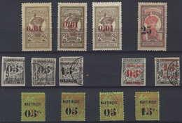 FRANCE Lot De 13 Timbres De Martinique Neufs Et Oblitérés, Variétés, TTB - Martinique (1886-1947)