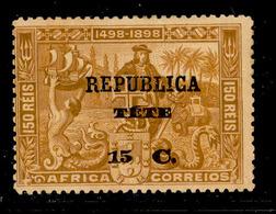! ! Tete - 1913 Vasco Gama On Africa 15 C - Af. 08 - MH - Tete