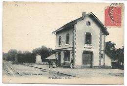 BOURGOGNE - La Gare - France