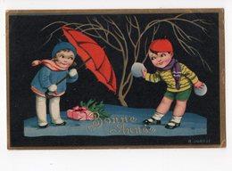 Ph3 - 271 - ILLUSTRATEUR - SGRILLI R. - Enfants - Parapluie - Bonne Année - Autres Illustrateurs