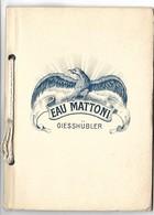 AUTRICHE - GIESSHUBLER - Eau Mattoni - Carnet De 4 Cartes Postales - Autriche