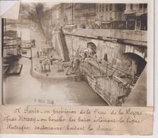 CRUE DE LA SEINE  QUAI D'ORSAY  18*13CM Maurice-Louis BRANGER PARÍS (1874-1950) - Places
