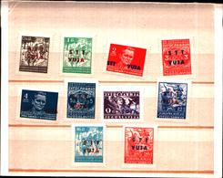 6650B) ITALIA - TRIESTE- Zona B (STT VUJNA)- 1949-FRANCOBOLLI DELLA JUGOSLAVIA DEL 1945 SOPRASTAMPATI-MNH** - 7. Trieste