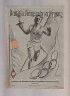 Deutsche Kriegsopferversorgung, Folge 11, August 1936, Magazines For Frontsoldiers WW1, NSKOV - Hobby & Sammeln