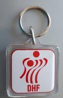 DENMARK DHF Handball  Federation Key Chain Key-ring - Key-rings