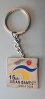 15th ASIAN Games Doha 2006   Key Chain Key-ring - Key-rings