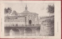 Spaanse Omwalling Antwerpen Anvers La Porte Du Kipdorp Kipdorppoort 1865 - Kaart 1903  (zeer Goede Staat) - Antwerpen