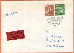 GERMANIA - GERMANY - Deutschland - ALLEMAGNE - Berlin - 1982 - 190 + 250 Industrie Und Technik - Exprès - FDC - Berlin - [5] Berlino