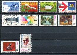Turquie - 1989 - Lots Timbres ** - Nºs Dans Description - 1921-... República