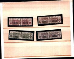 6654B) ITALIA - Pacchi Postali Soprastampati SOMALIA ITALIANA Del Secondo Tipo In Nero-1926-MLH*-FIRMATI - Somalia