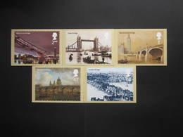 2002 BRIDGES OF LONDON STAMPS P.H.Q. CARDS UNUSED, ISSUE No. 245 - 1952-.... (Elizabeth II)