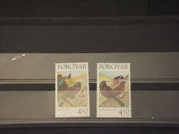 FOROYAR - 1998 UCCELLI 2 VALORI -NUOVI(++) - Isole Faroer