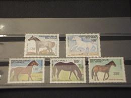 MALI - 1980 CAVALLI 5 VALORI - NUOVI(++) - Mali (1959-...)