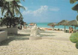 Postcard Playa De Varadero Cuba Nice 1990 Train Stamp My Ref  B23702 - Cuba