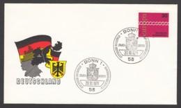 Germany-BRD - Sonderkuvert-Beleg 1971 - MiNr. 676 - Europa - Sonderstempel Zum Besuch Der Königin Der Niederlande - BRD
