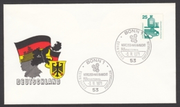 Germany-BRD - Sonderkuvert-Beleg 1971 - MiNr. 697 A - Unfallverhütung - Sonderstempel 10 Jahre Postleitzahlen - BRD