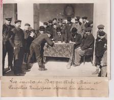 BAR SUR AUBE LE ÉMEUTES MAIRE ET CONSEILLERS DÉMISSION  VIGNERONS 18*13CM Maurice-Louis BRANGER PARÍS (1874-1950) - Lugares