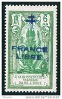 INDE Surcharge »Croix De Lorraine Et FRANCE LIBRE»  Maury  203 II  ** - Ungebraucht