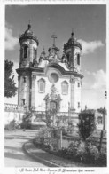 BRASIL Brazil Brésil - SAO JOAO DEL REI : Igreja S. Francisco - CPSM Dentelée Noir Blanc Postée 1966 - - Andere