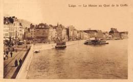 LIEGE - La Meuse Au Quai De La Goffe - Liege