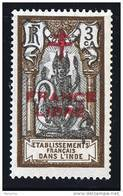 INDE ßurcharge »Croix De Lorraine Et FRANCE LIBRE»  Maury  202 II  ** - Ungebraucht